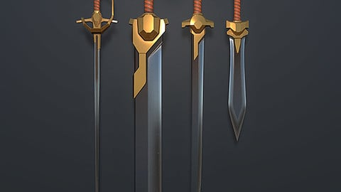 SciFantasy Sword Pack 01