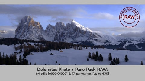 Dolimites Photo & Pano Pack with RAW