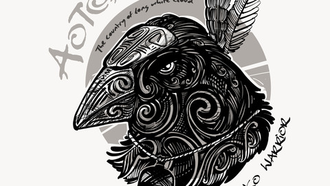Authentic New Zealand - Pukeko Warrior