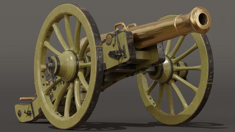 French Napoleonic Cannon