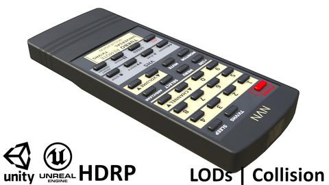 Game-ready Retro Remote Control