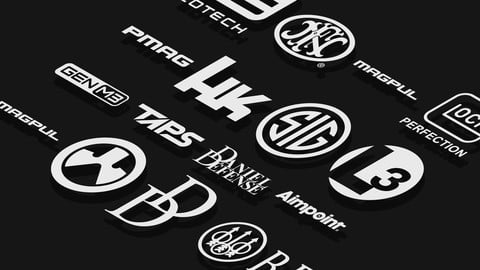 Gun Manufacturer Logos - Vector Drawings Vol 1