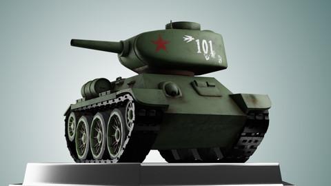 Mini T34 Tank