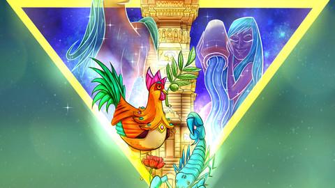 Personalised Horoscope Illustration