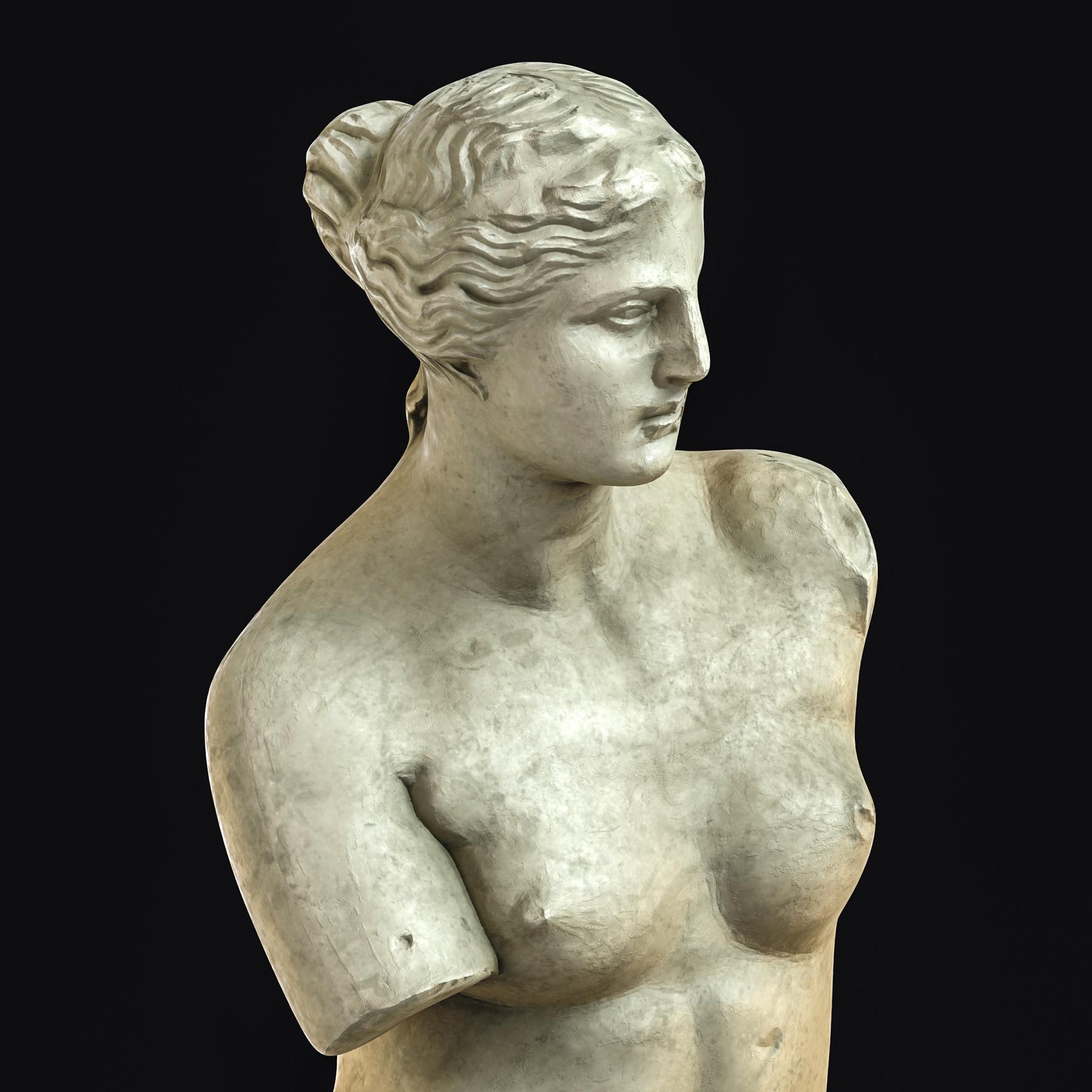 ArtStation - Venus De Milo / Sculpture / 3D Model