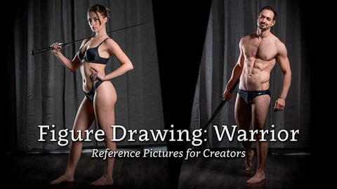 Figure Drawing: Warrior - Reference Pictures for Creators