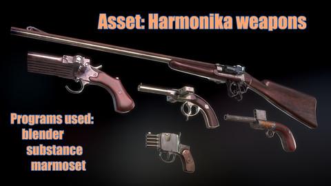 Harmonika weapons