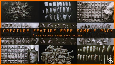 CREATURE FEATURES FREE SAMPLE PACK