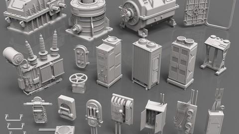Factory Units 1 - 20 pieces