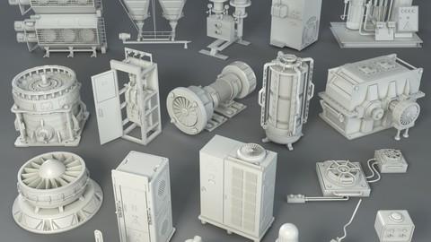 Factory Units 2 - 20 pieces