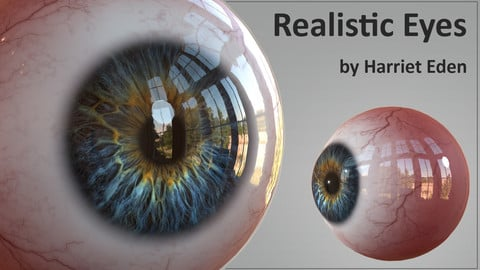 Game Ready Realistic Eyes