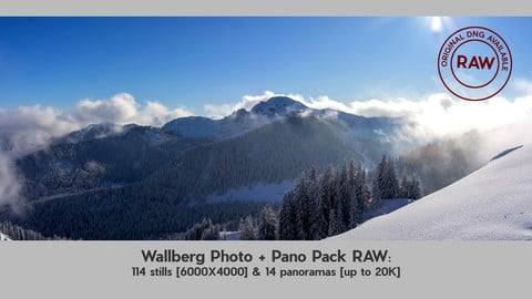 Wallberg Photo & Pano Pack with RAW