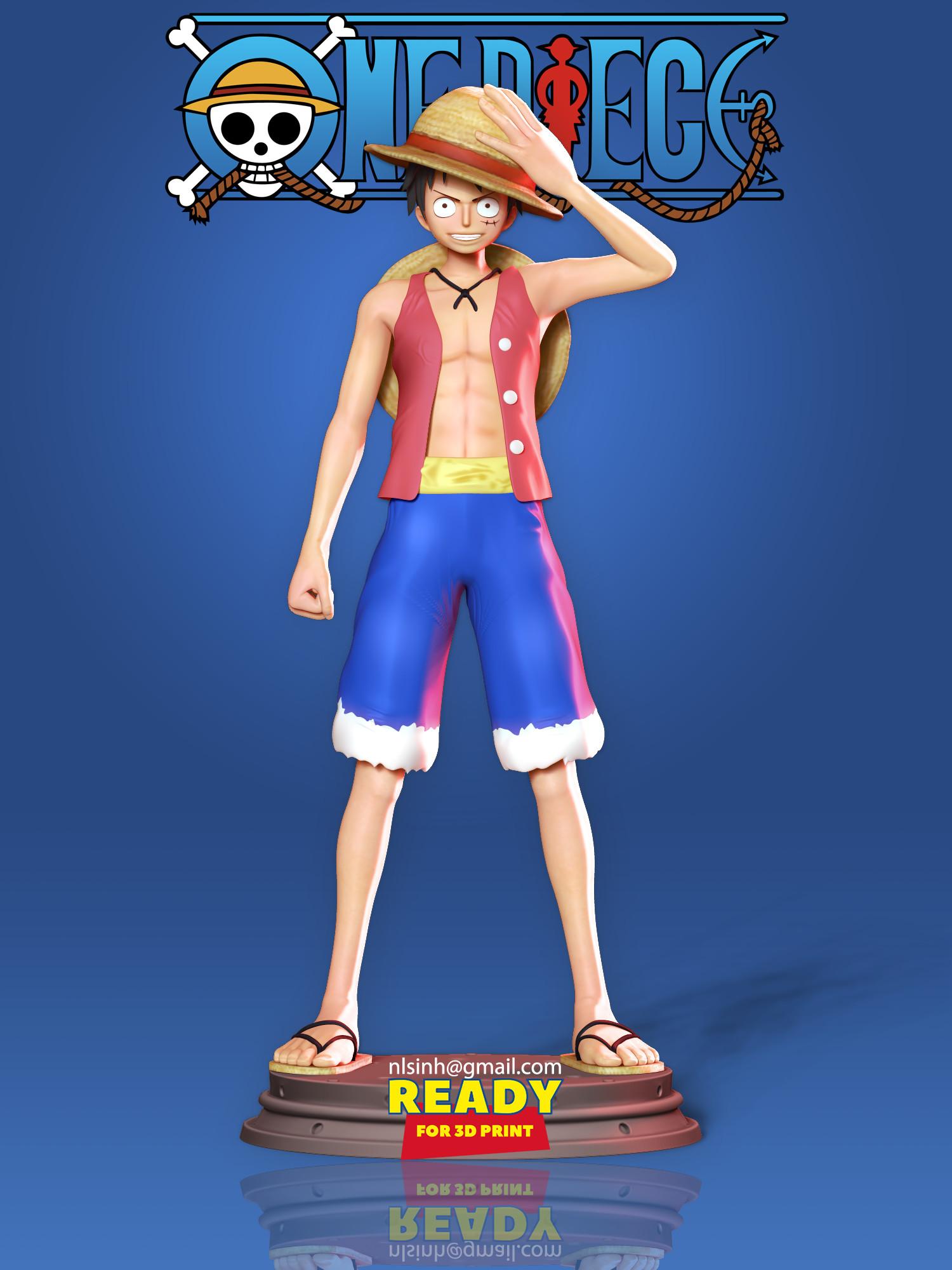 ArtStation - Luffy - One Piece Fan art | Game Assets