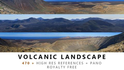 VOLCANIC Landscape Texture PACK