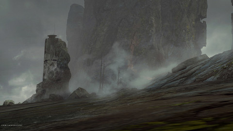 Rocky Landscapes in Blender
