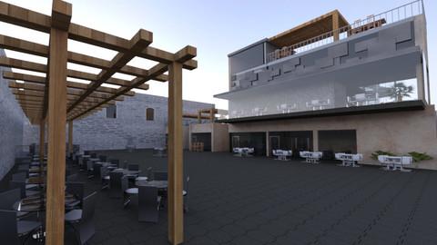 Revit Restaurant & Cafe