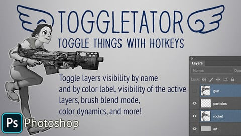 Toggletator for Photoshop!