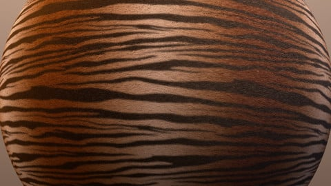 Tiger Substance Material and Maps