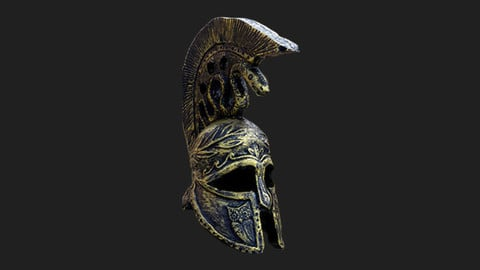 Greek Helmet - Photogrammetry Scan