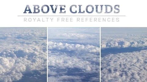 Above Clouds - Photo Pack // Matte Painting, Photobash, Reference