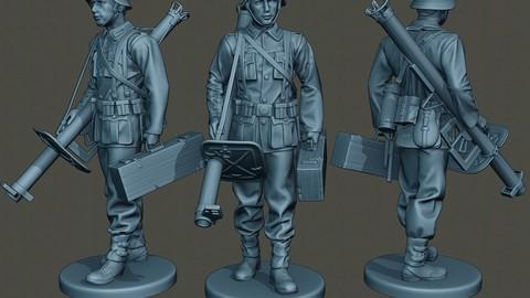 German soldier ww2 walk G4