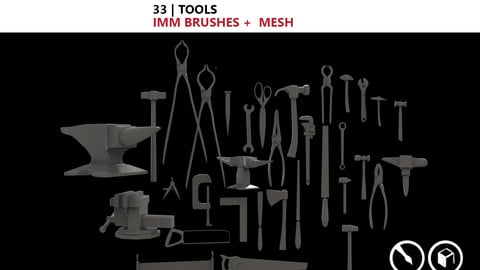 Tools IMM brushes + Mesh