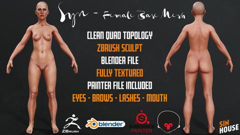 Syn - Female Base Mesh