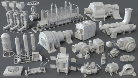 Factory Units 4 - 20 pieces