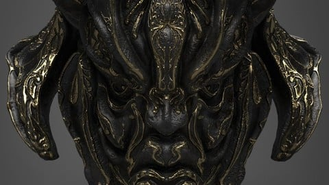 Fantasy Head Artifact (UE4)