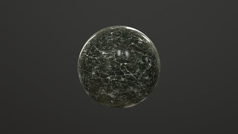 Realistic Polished Marble Materials