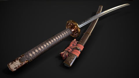 Weapon : Katana Sword