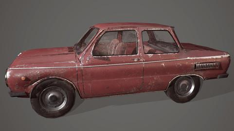 ZAZ-968 (18k tris)