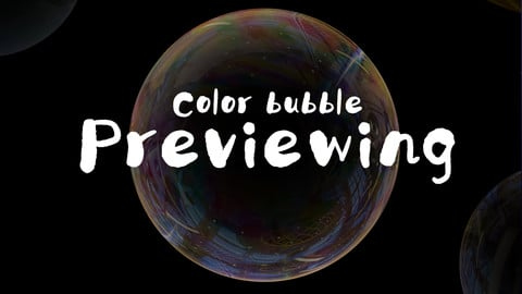 【free brush 】Color bubble brush