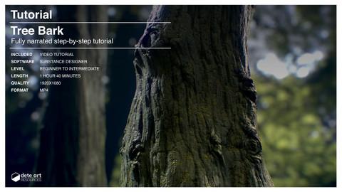 Tree Bark Creation | Substance Designer Tutorial
