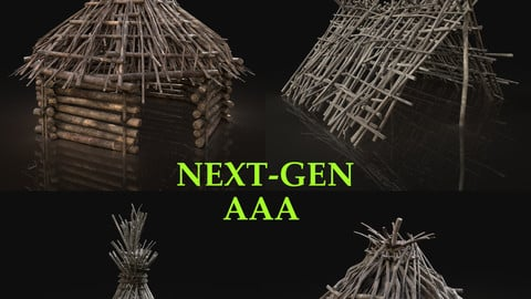AAA NEXT GEN FOREST WOODS SHELTER PACK COLLECTION