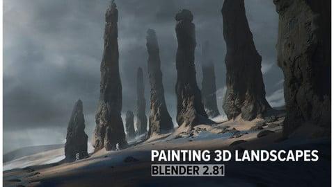 Painting 3D Landscapes
