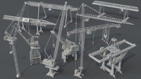 Cranes - 10 pieces