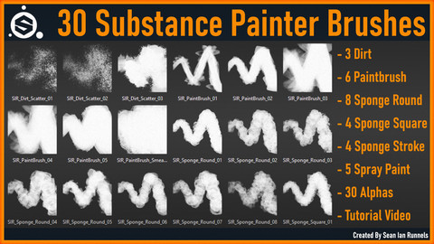 Substance Painter Brushes Vol.2