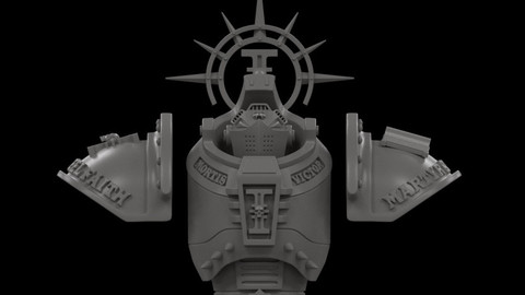 DreadKnight Conversion Parts for 3D Print