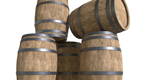 BarrelPBRWooden