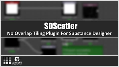 SDScatter - No overlap tiling in Substance Designer