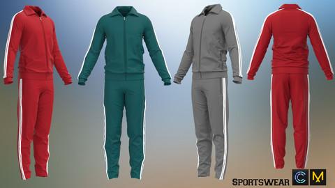 Sportswear, Marvelous designer, Clo3d
