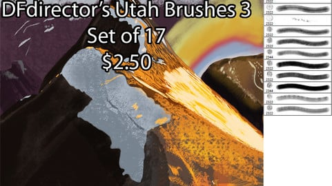 Utah Brushes set 3 (CS5+)