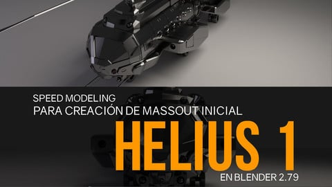 Nicolas Chacin, Speed Modeling para Creación de Massout inicial en Blender 2.79