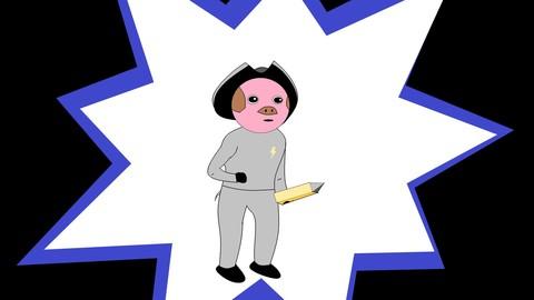 Cosmic corsair pig