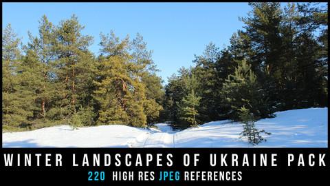 Winter landscapes of Ukraine Pack