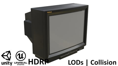 Retro CRT TV 29 inches