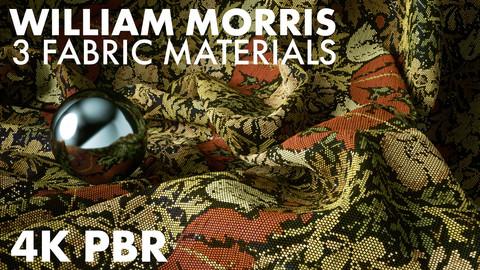 3 William Morris Fabric Materials