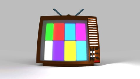Voxel Television