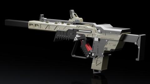 Jackhammer LMR Rifle Printable Model